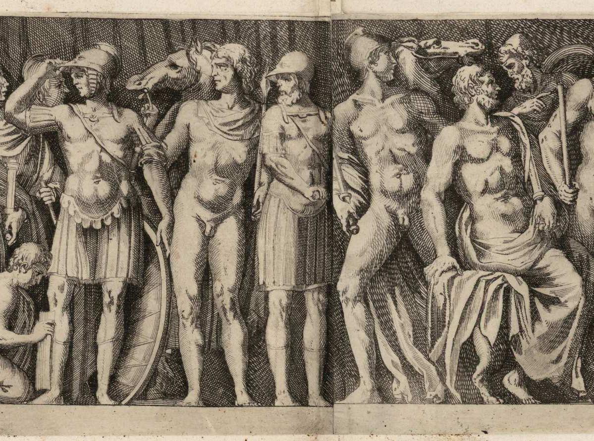 Escenas de la vida de Aquiles (1626-1635)