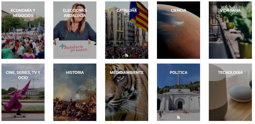 Flipboard de 'El independiente'