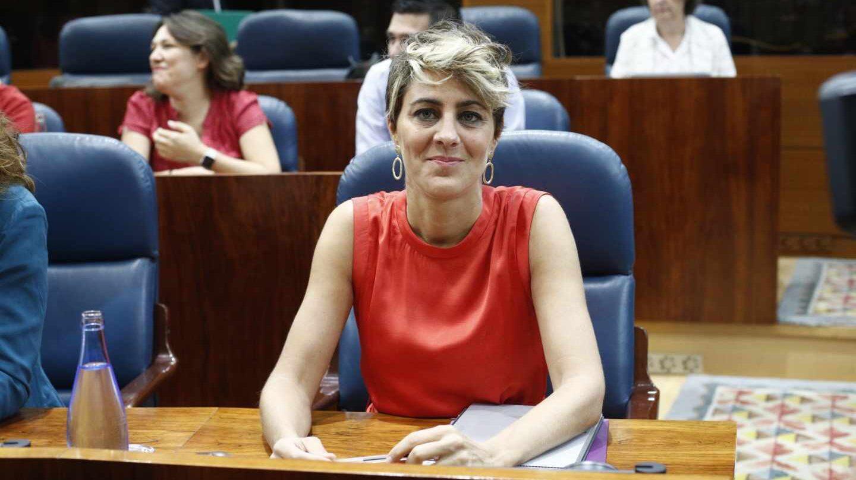 Lorena Ruiz-Huerta, en la Asamblea de Madrid.