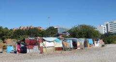 Adif desaloja las chabolas en sus terrenos de Madrid para hacer un gran Centro de Danza