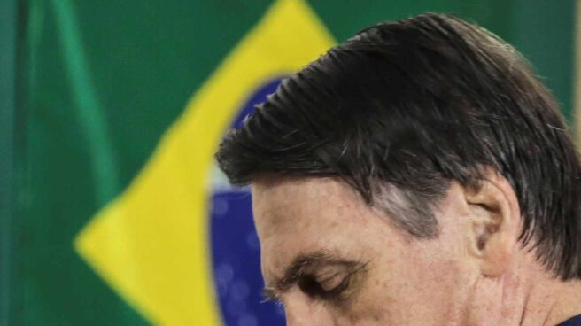 Jair Mesías Bolsonaro, ganador en la primera vuelta de las presidenciales en Brasil.