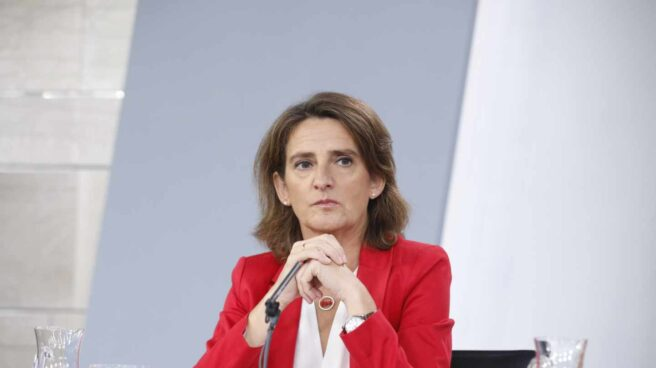 La ministra para la Transición Ecológica, Teresa Ribera.