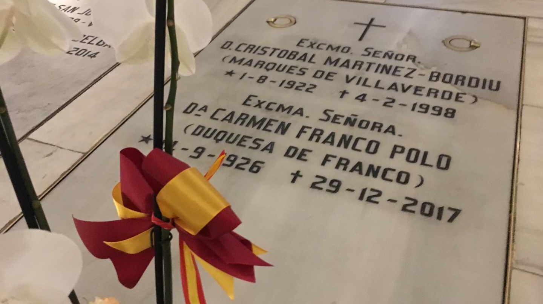 Sepulcro de Carmen Franco Polo.