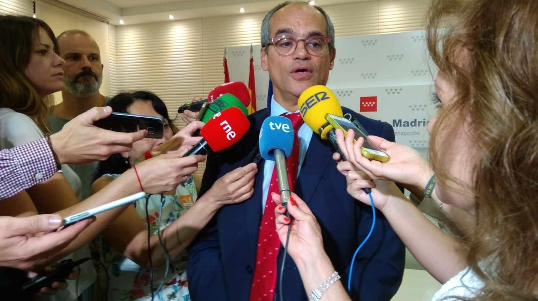 El consejero de Educación de la Comunidad de Madrid, Rafael Van Grieken.