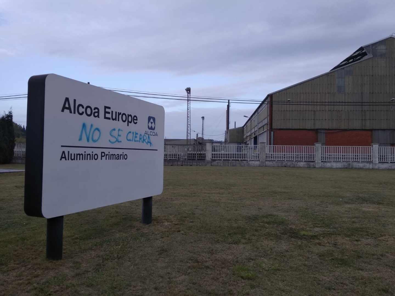 La planta de Alcoa en Avilés, Asturias.
