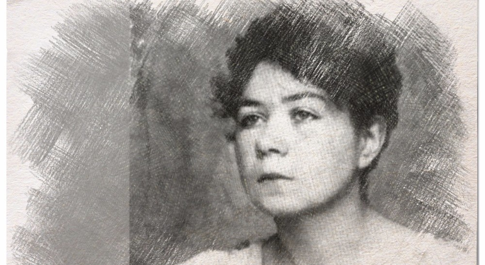 La poeta Alfonsina Storni.