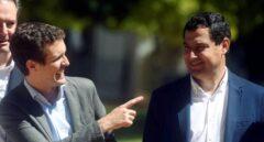 Pablo Casado y Juan Manuel Moreno en una imagen de archivo