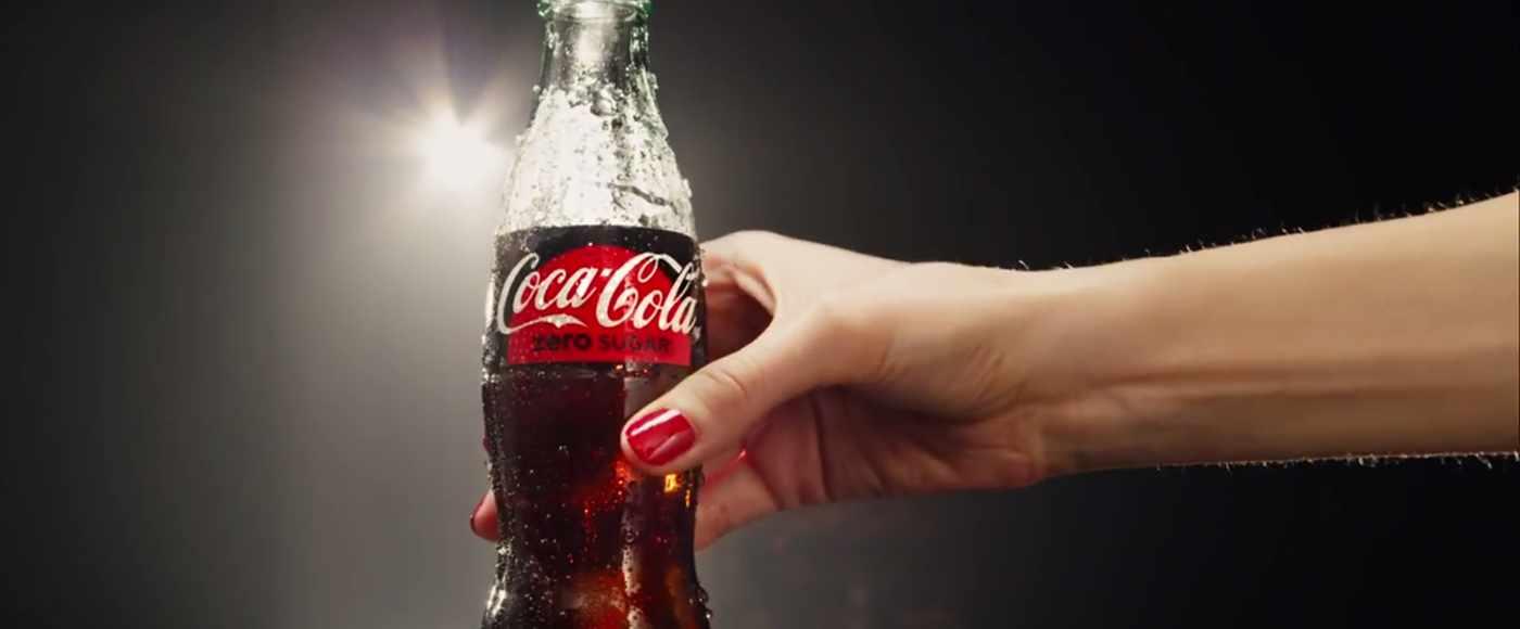 Coca-Cola vence a Pepsi en la batalla por los refrescos saludables.