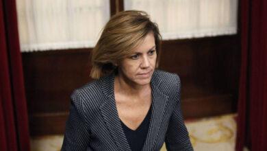 """Cospedal dice que Bárcenas """"vuelve a mentir"""" al acusarla de cobrar sobresueldos"""