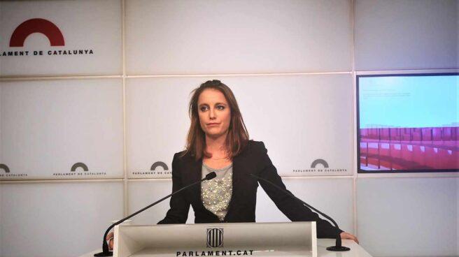 La diputada en el Parlamento de Cataluña por el PP, Andrea Levy.