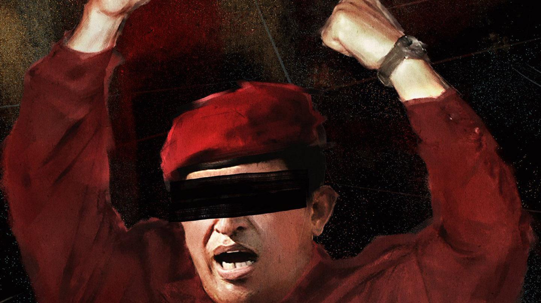 Imagen de Hugo Chávez, el fallecido líder de Venezuela.