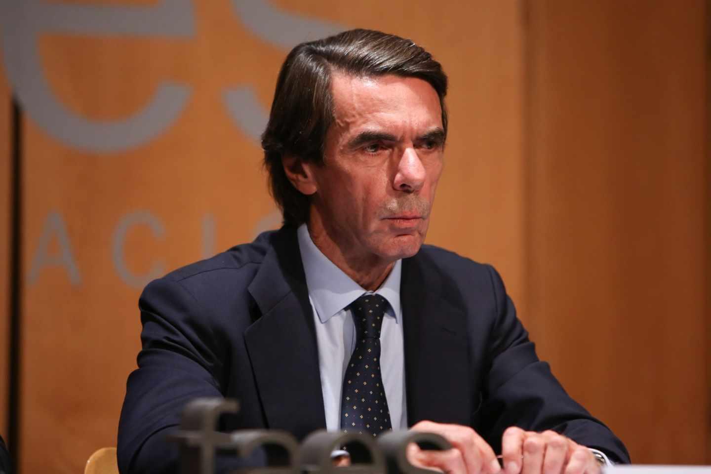 El ex presidente del Gobierno, José María Aznar.