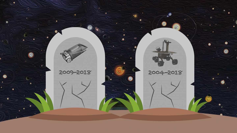 Los difuntos de NASA: el último adiós a Kepler y Opportunity