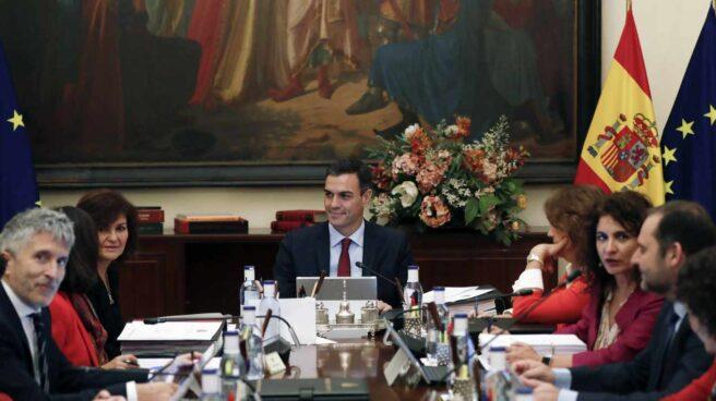 El Consejo de Ministros, reunidos en Sevilla.