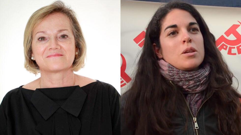 María Teresa Feíto y Cecilia Rosado