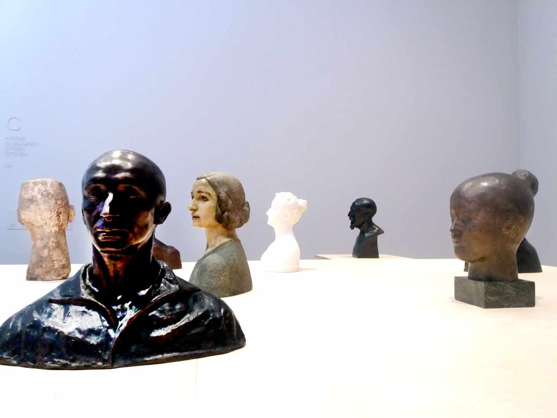 Obras del Museo de Bellas Artes de Bilbao.