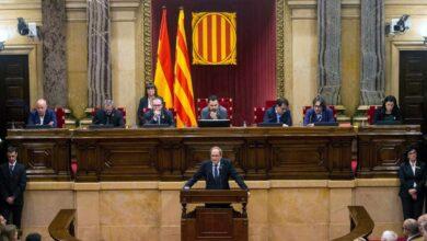 El Parlament evita mencionar la continuidad de Torra como president en su recurso sobre la inhabilitación
