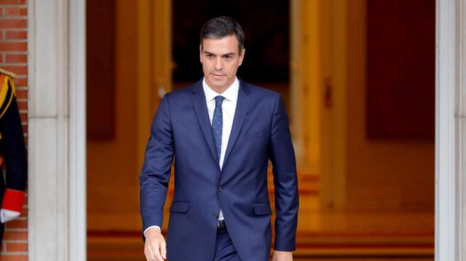El presidente Pedro Sánchez.