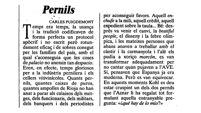 Pernils