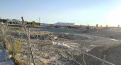 Terrenos afectados por la trama Púnica en Valdemoro, donde 100 familias pensaban construir sus viviendas.