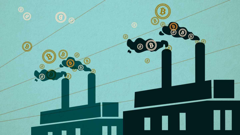 La minería de bitcoins eleva las emisiones de CO2