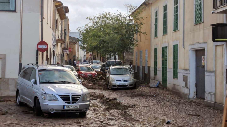Inundaciones en Sant Llorenç.