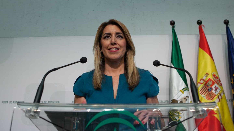Susana Díaz comunica las elecciones el 2 de diciembre.