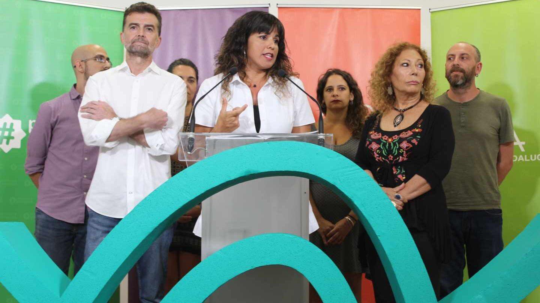 Teresa Rodríguez y Antonio Maíllo valoran el adelanto electoral en Andalucía.