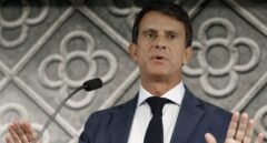 El ex primer minbistro francés y aspirante a la alcaldía de Barcelona, Manuel Valls