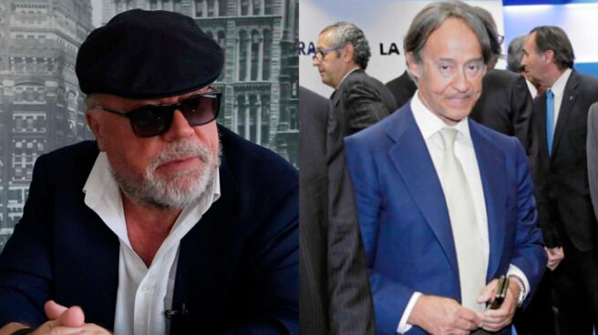 El excomisario Villarejo y Adrián de la Joya
