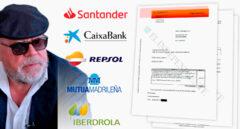 Comisiones del 4%: así cobraba Villarejo a los grandes bancos y a otras empresas del Ibex