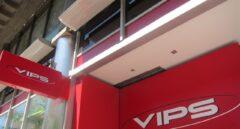 Imagen de un establecimiento de la cadena Vips.