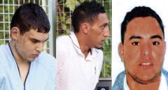 Mohamed Houli Chemlal, Driss Oukabir y Said Ben Iazza, los tres procesados por el juez de la Audiencia Nacional Fernando Andreu.