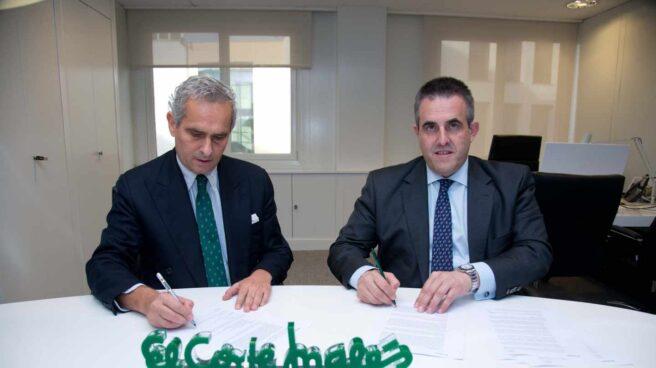 Rodrigo Cipriani Foresio, director de Alibaba Group para el sur de Europa, y Víctor del Pozo, consejero delegado de El Corte Inglés.