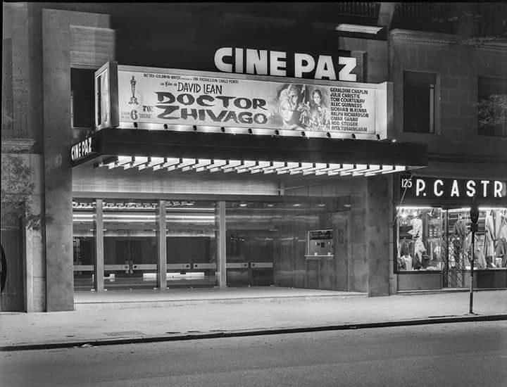 1966 Fachada Cine Paz
