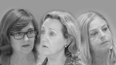 Teresa, Cristina y Consuelo, rebelión sin capucha