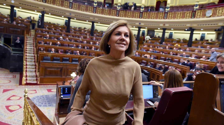Fotografía de archivo de la ex secretaria general del PP, María Dolores de Cospedal.
