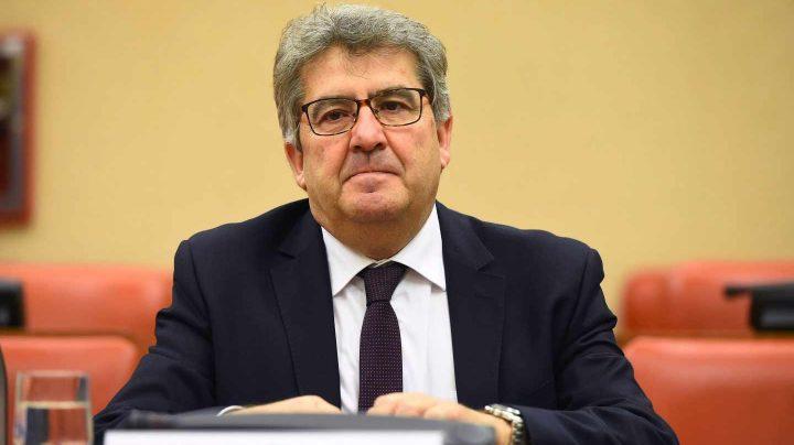 José Ricardo de Prada, uno de los jueces del caso Gürtel, durante su comparecencia ante la Comisión Consultiva de Nombramientos del Congreso.