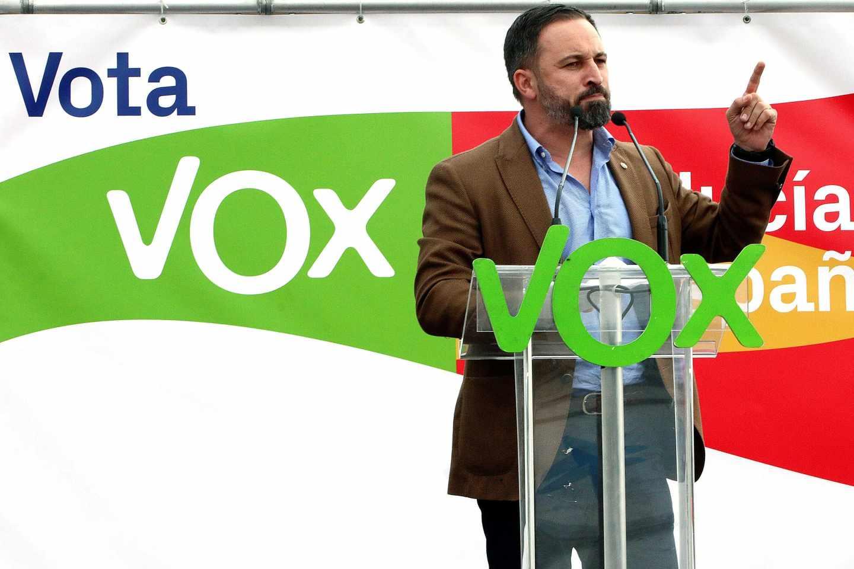 Mitin de Vox en Sevilla.