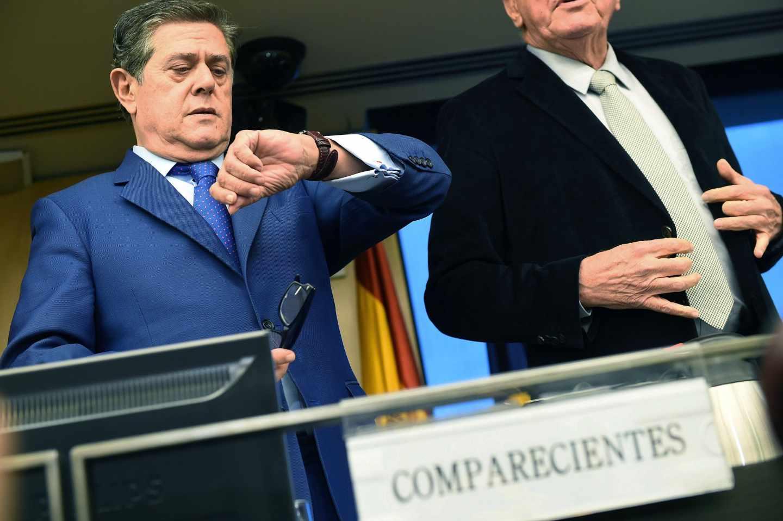 El ex ministro Federico Trillo en el Congreso de los Diputados.