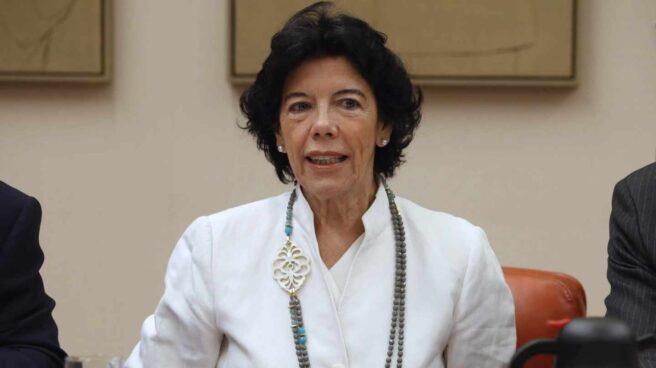 La ministra de Educación, Isabel Celáa.