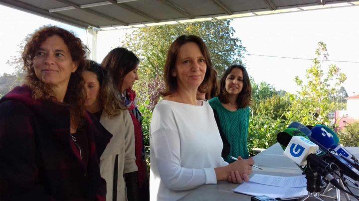 Carolina Bescansa, en un acto de Podemos.