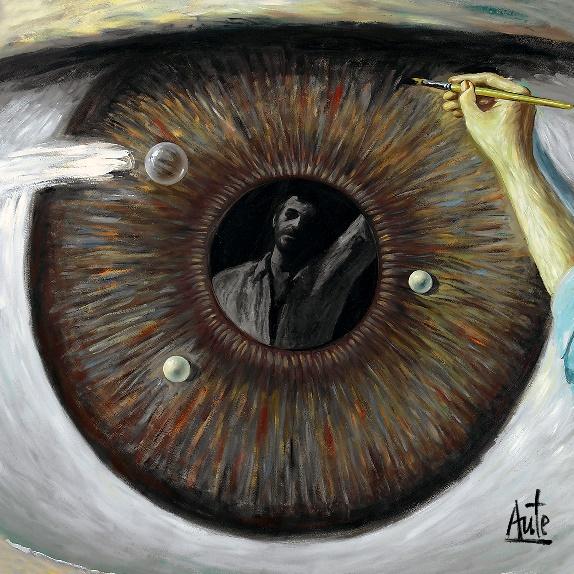Cubierta del disco 'De la luz y la sombra' de Luis Eduardo Aute