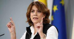"""Delgado defiende el """"constitucionalismo"""" de ERC, Bildu y PDeCAT mientras carga contra Vox"""
