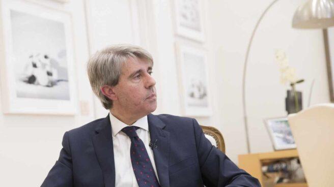 El presidente de la Comunidad de Madrid, Ángel Garrido.