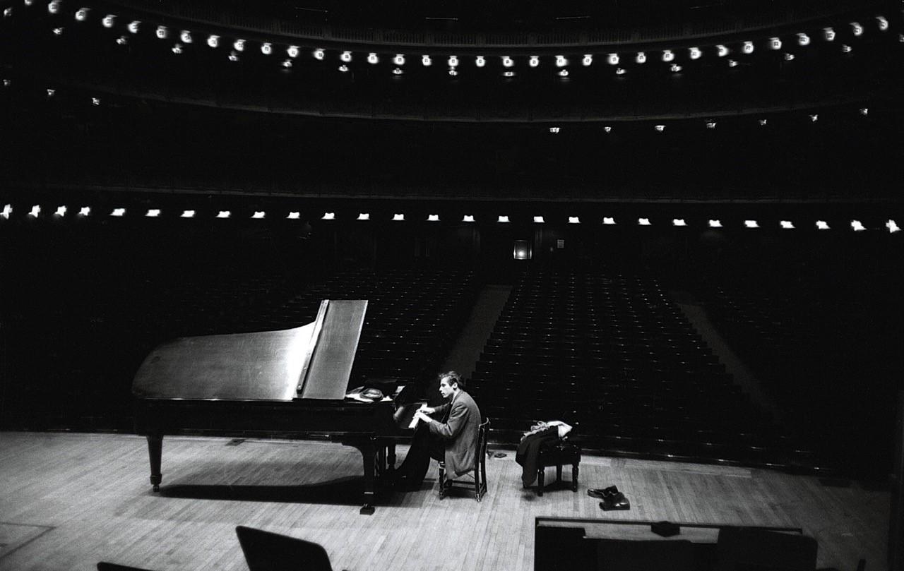 Glenn Gould en el Carnegie Hall