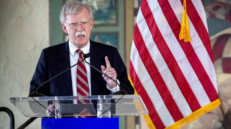 John Bolton, destitutido como asesor de Seguridad Nacional del presidente de EEUU.