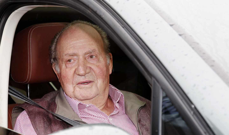 El Rey emérito, Don Juan Carlos.