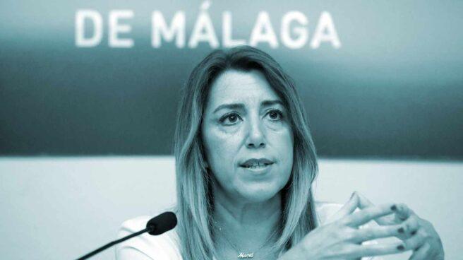 La presidenta de la Junta de Andalucía y candidata en las próximas elecciones andaluzas, Susana Díaz.
