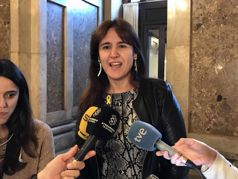 Laura Borràs, líder de JxCat en el Congreso